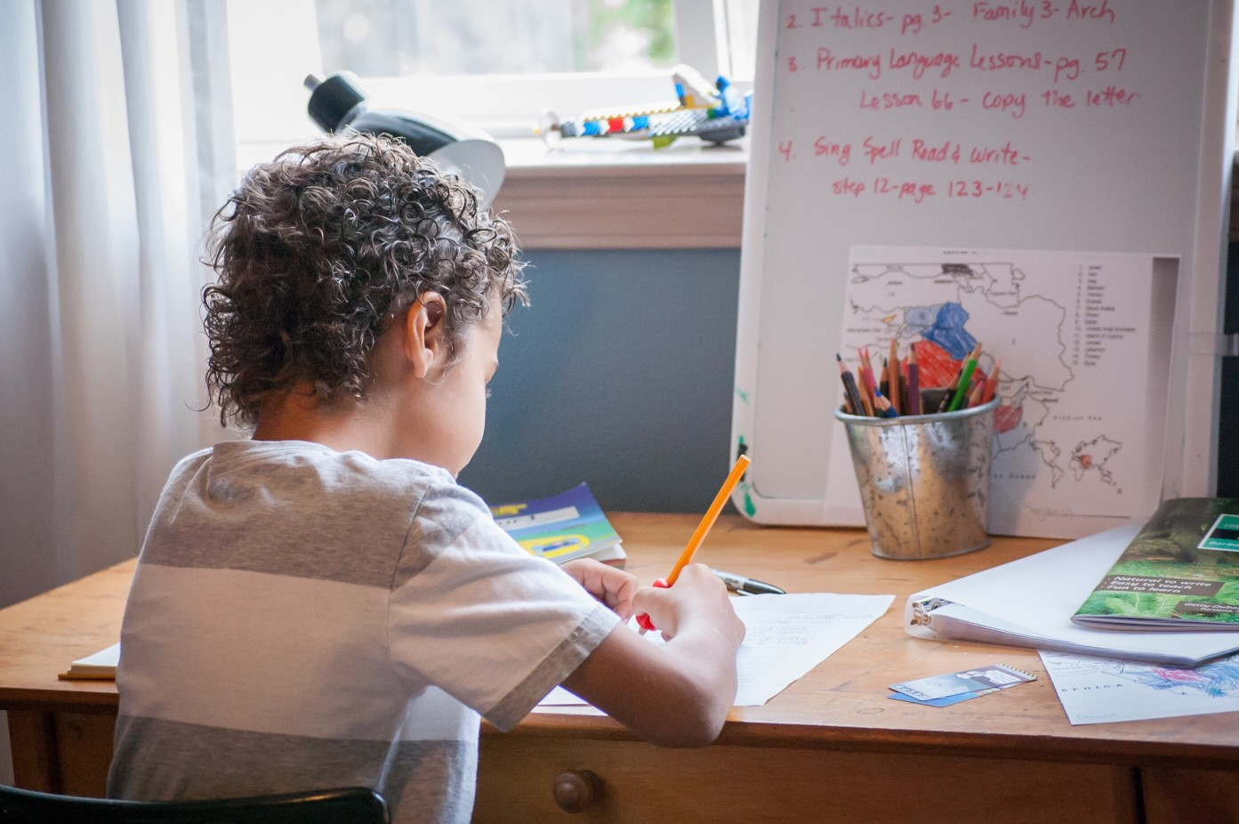 How to Create a Workspace For Kids That Really Works